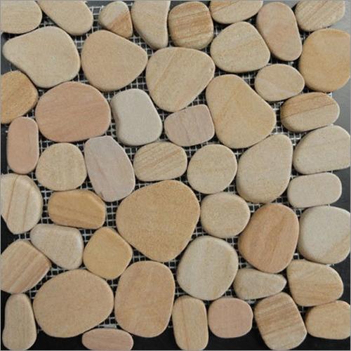 Laser Pebble Teak Sandstone