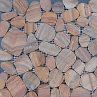 Laser Pebble Rainbow Sandstone
