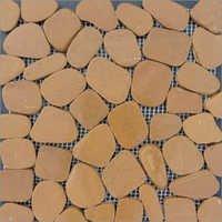 Laser Pebble Limestone Tan