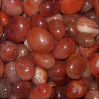 Red Polished Pebble