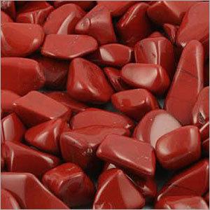 Jasper Red Polished Pebble