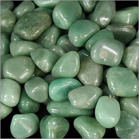 Green Polished Pebble