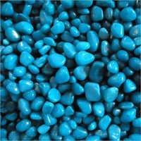 Aqua Blue Polished Pebble