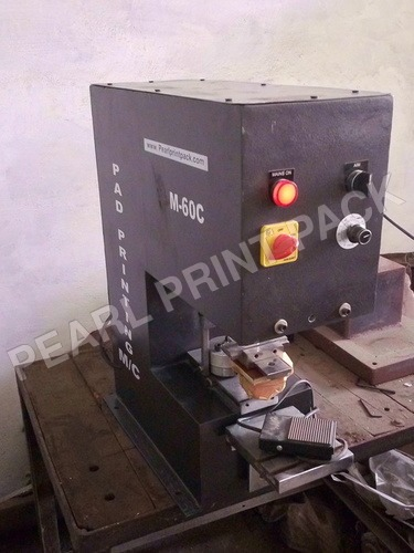 Double Color Manual Pad Printing Machine