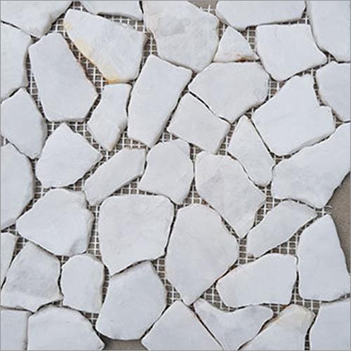 White Polished  Stone Tile