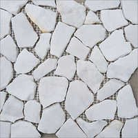 White Polished  Stone Tile