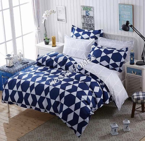 New Abstract Design Cotton Comforter Set 4 Piece