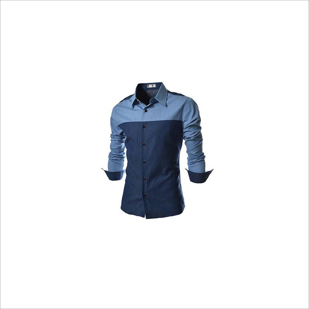 Mens Colored Cotton Shirt