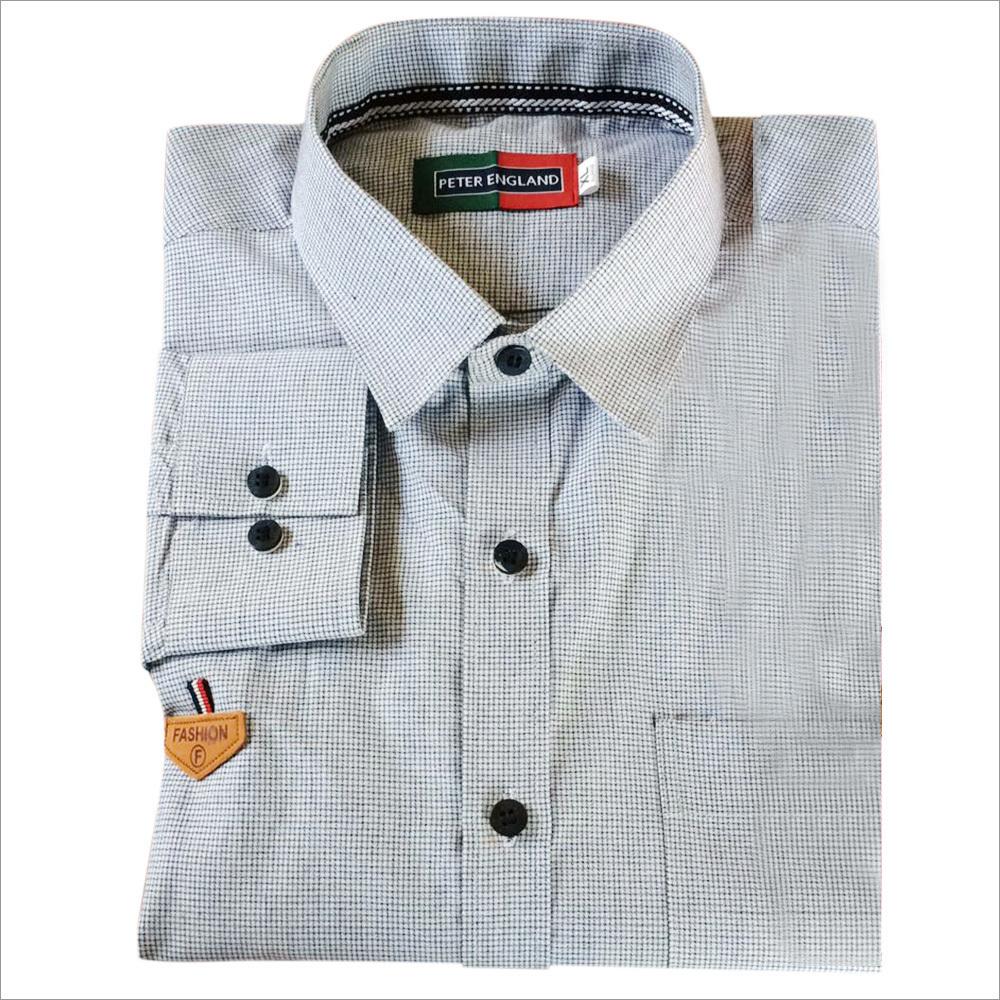 Men's Lining Cotton Shirt