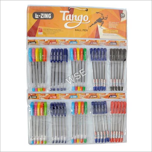 Lezing Tango Ball Pen Chart