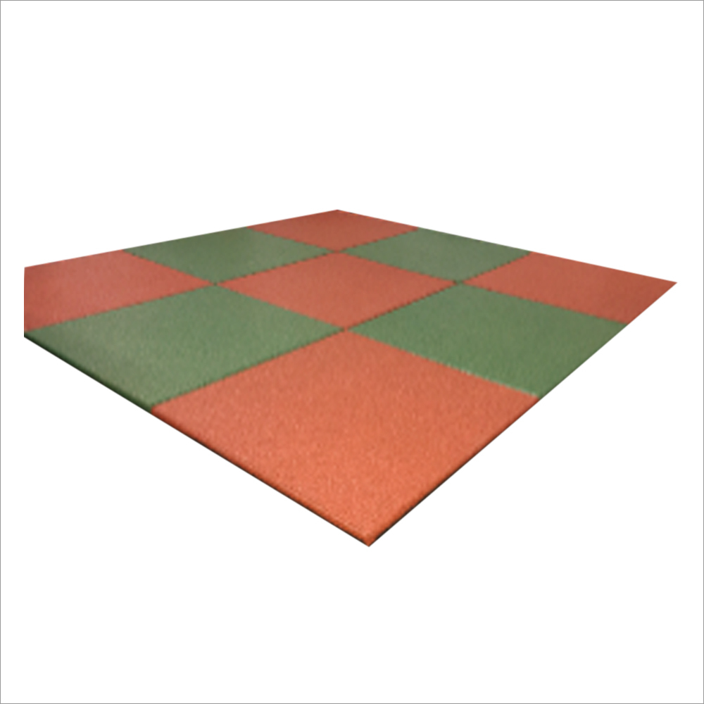 25mm Square Rubber Tile