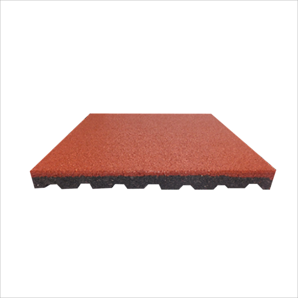 Playground Square Rubber Safety Tiles