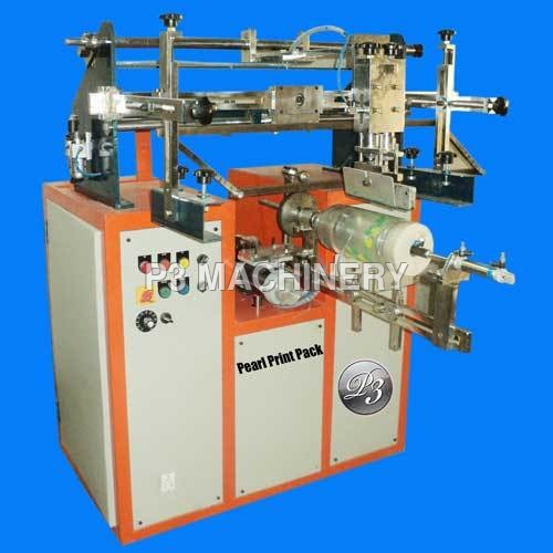 Eco Model Round Screen Printing machine
