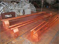 Fabricated Copper Bust Tube
