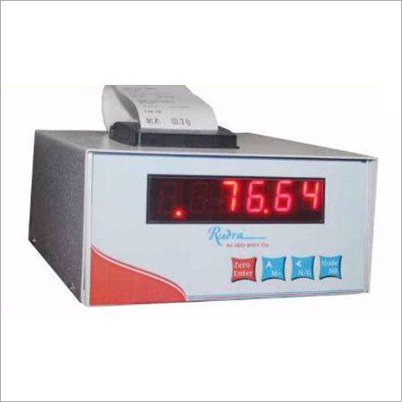 Printer Indicator Weighing Machine