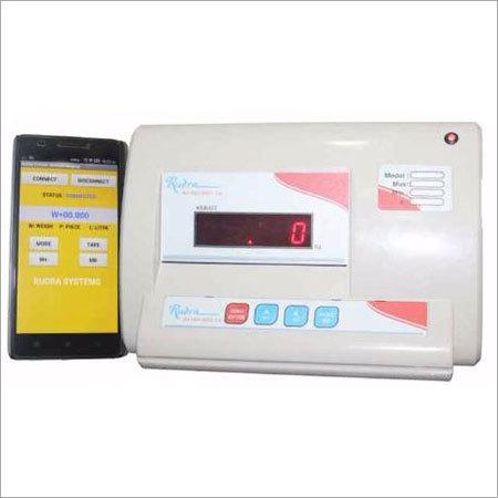 Bluetooth Indicator Weighing Machine