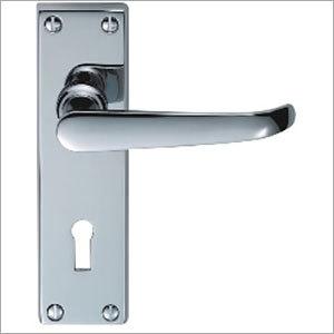 Silver Color Door Lock Handle