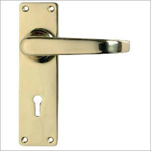 Gold Color Door Lock Handle