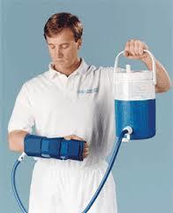 Cryo therapy unit (cooler and tube assembly with 5 cryo cuffs)