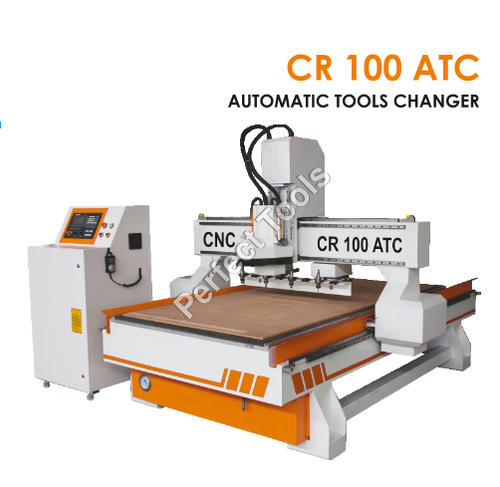 C.N.C Router Machine with Automatic Tools Changer