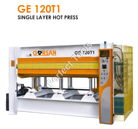 Single layer hot press