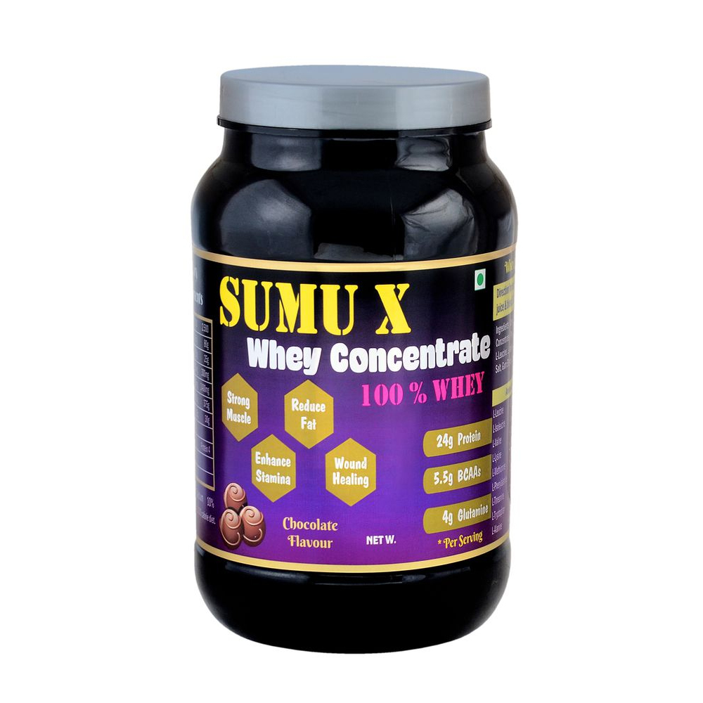 SUMU X Whey Protein Concentrate 1 lbs with Chocolate Flavour