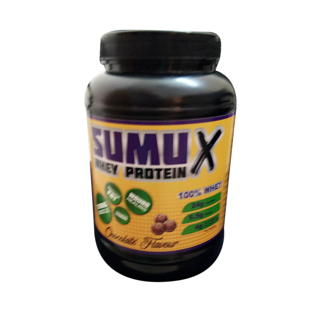 SUMU X Whey Protein Concentrate 1kg with Chocolate Falvour