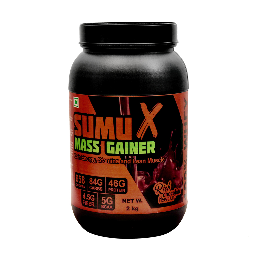 Sumu X Lean Mass Gainer 2 Kg