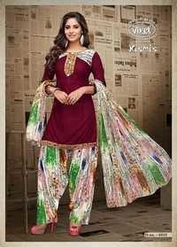 Cotton fabrics patiyala suits vivel kismiss