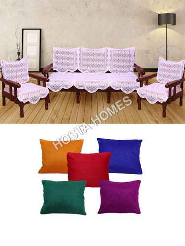 Poly Cotton Sofa Covers :: Cushion Covers