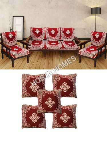 10 Pcs Sofa Covers With Cushion Covers 5 Pieces 10 Pcs Sofa Covers
