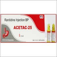 Ranitidine Injection BP (Acetac Tablet 25MG)