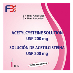Acetylcysteine Solution USP 200mg