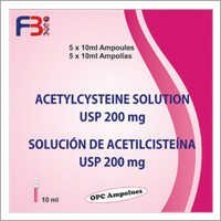 Acetylcysteine Solution USP 200mg (Ampoules)