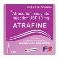 Atracurium Besylate injection USP (Atrafine Injection)