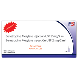 Benziropine Mesylate Injection USP  2ml