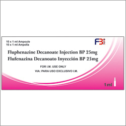 Fluphenazine Decanoate Injection BP 25mg