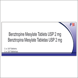 Benztropine Mesylate Tablets USP 2 mg