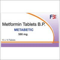 Metformin Tablets B.P. Metabetic 500 mg