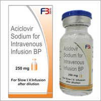 Aciclovir Sodium For Intravenous Infusion BP 250 mg