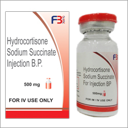 Hydrocortisone Sodium Succinate Injection B.P. 500 mg