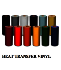 Heat Transfer Vinyl and Flock
