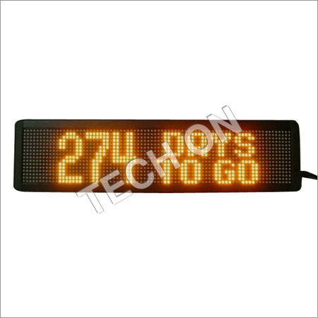 Moving Message Display Boards