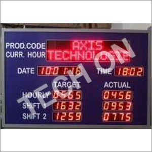 Time Led Display Boards
