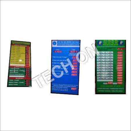 Intersest Rate Display Board