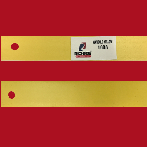 Marigold Yellow Edge Band Tape
