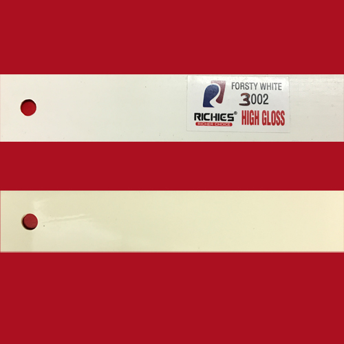 Frosty White High Gloss Edge Band Tape