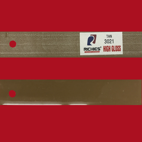 Tan High Gloss Edge Band Tape