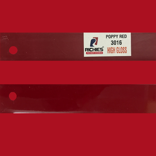 Poppy Red High Gloss Edge Band Tape