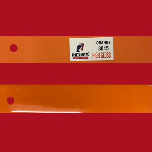 Orange High Gloss Edge Band Tape